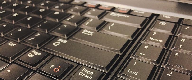 laptop keyboard focus