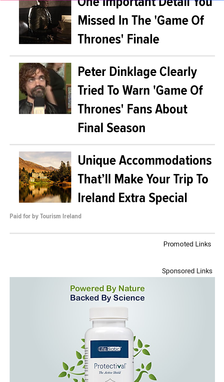 native ads and recommendations on mobile view