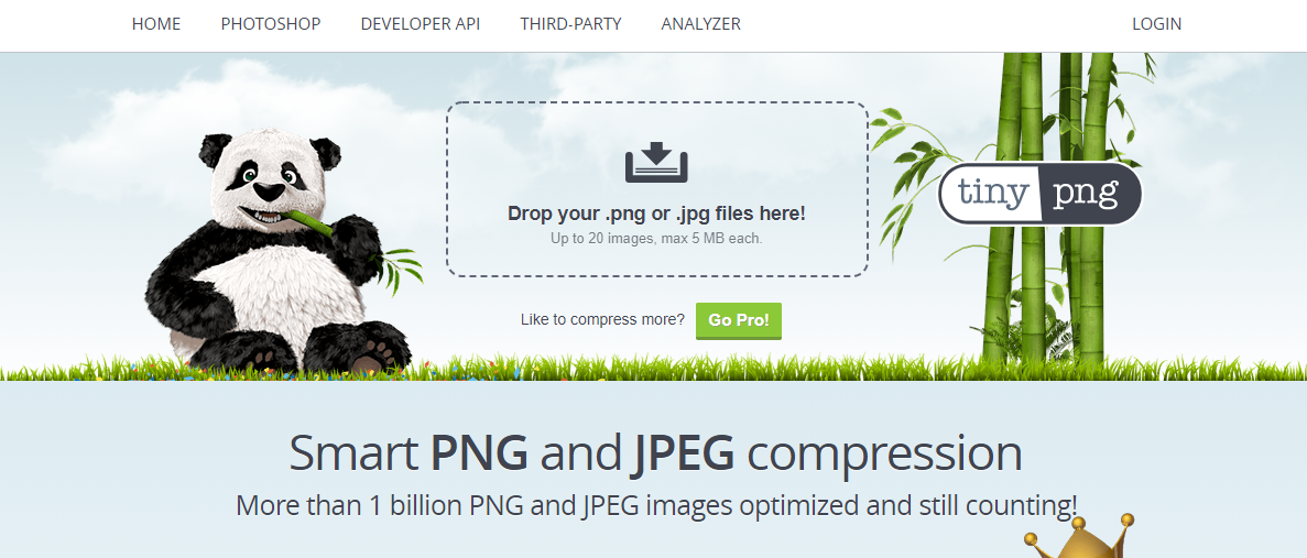 TinyPng tool use to compress images