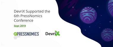 DevriX Supported the 6th PressNomics Conference
