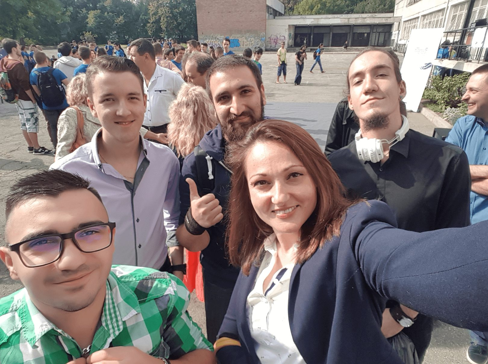 Four of the DevriXians in this picture are ELSYS graduates: Todor, Bojidar, Mario and Emil