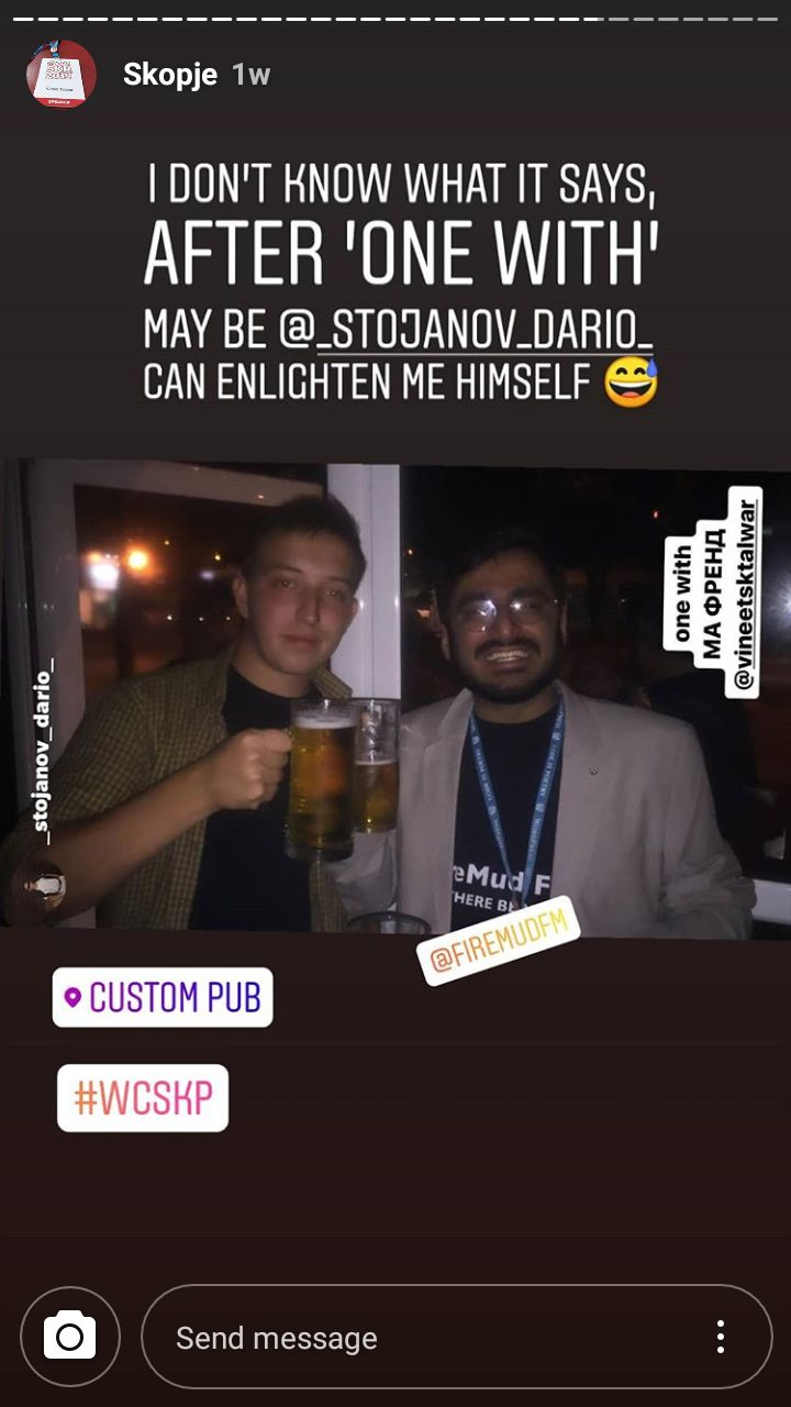 WordCamp Skopje 2019 After Party