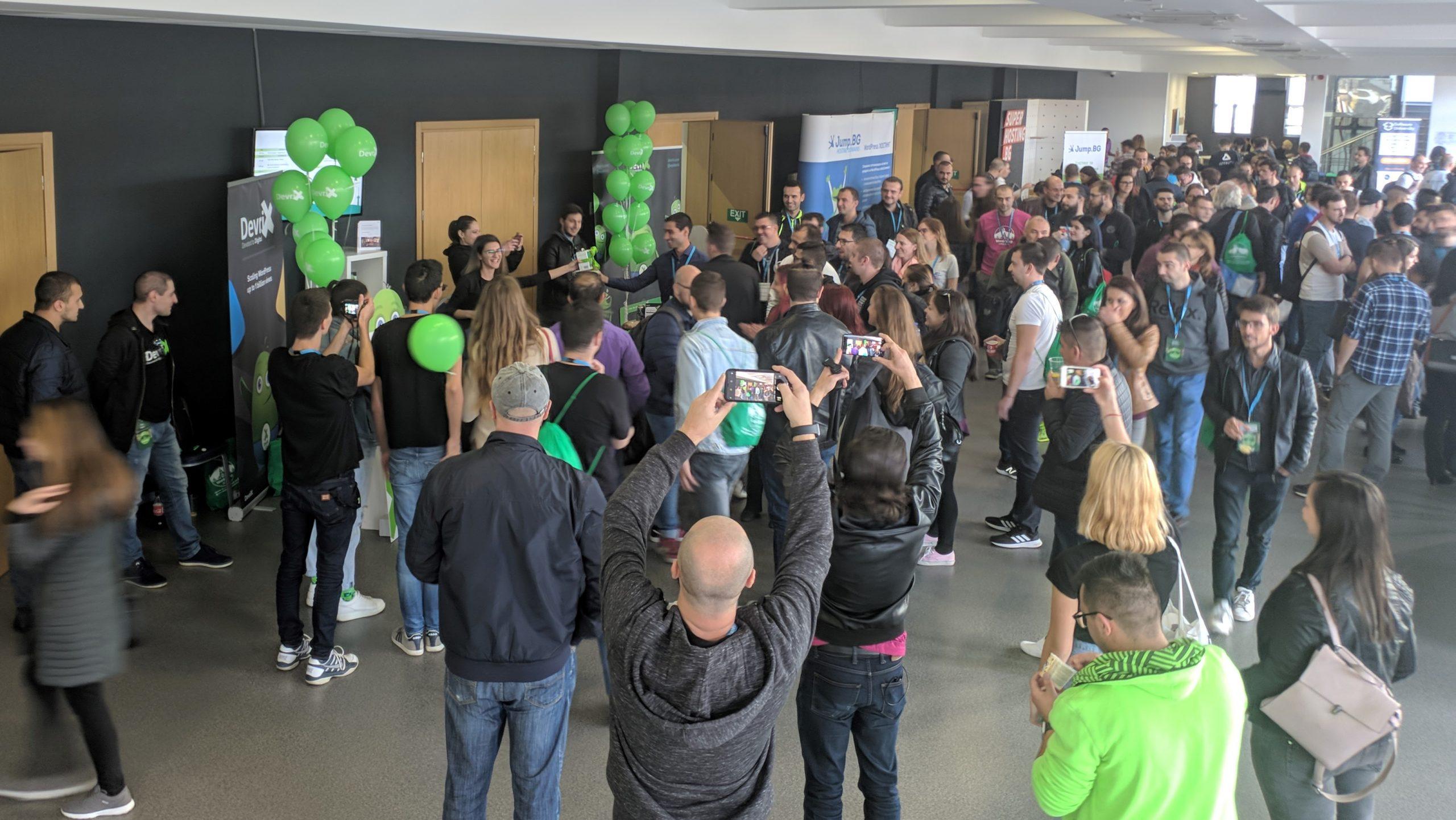 All eyes on DevriX stand on WCSOF 2019