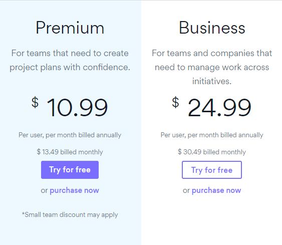 per-user pricing model