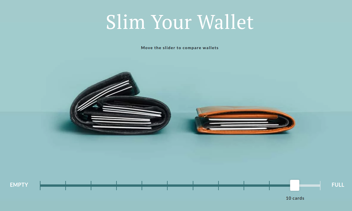 Bellroy interactive graphics