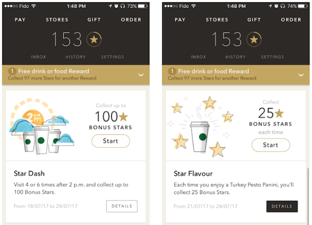 Starbucks personalized games to engage customers