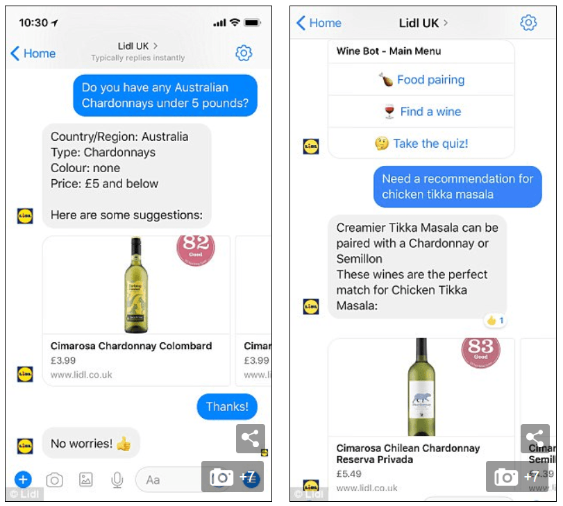 using AI to recommend products