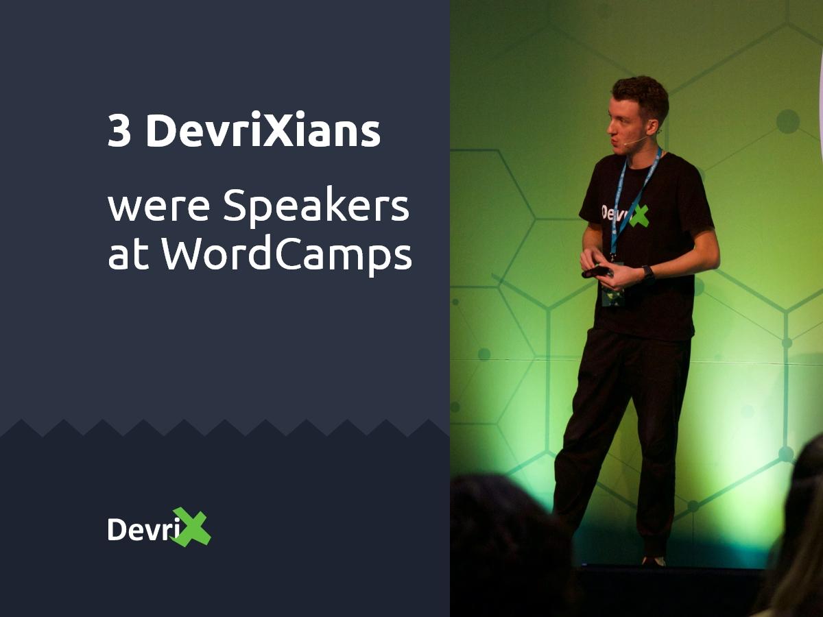 DevriXian WordCamp Speakers