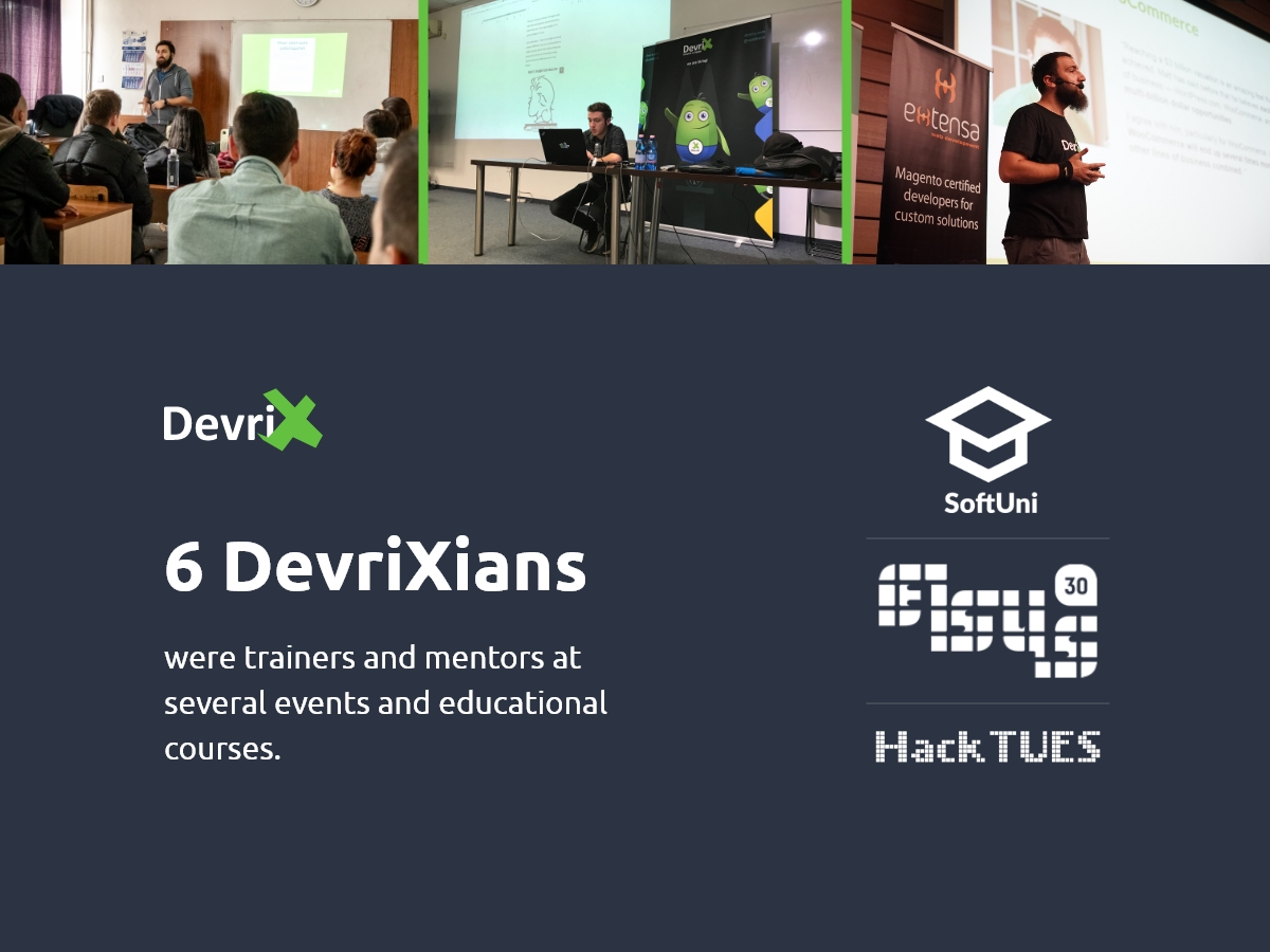 DevriXian Trainers and mentors in 2019