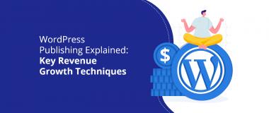 WordPress Publishing Explained Key Revenue Growth Techniques