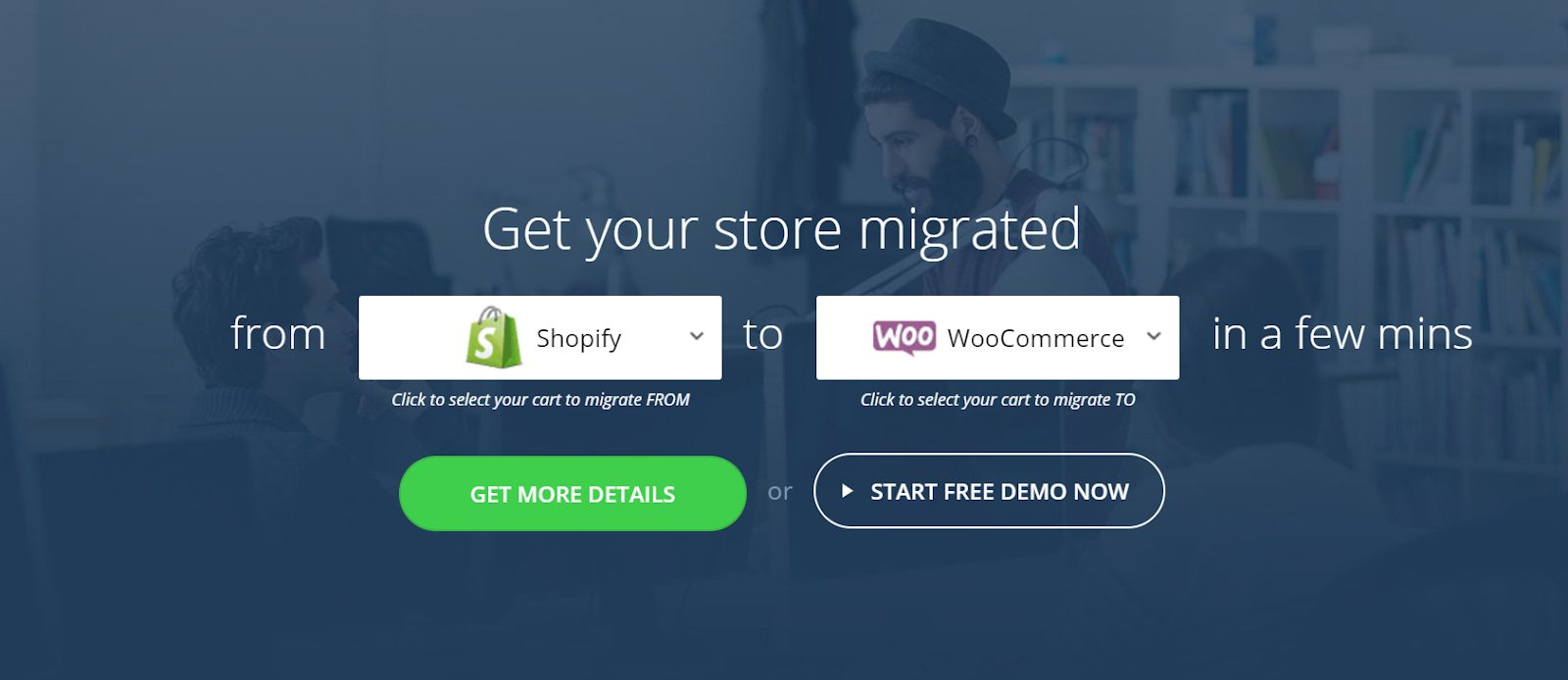 cart2cart migration from shopify to woocommerce