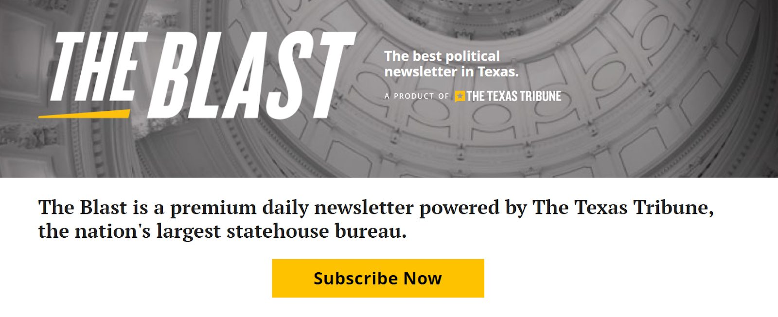 the blast political newsletter