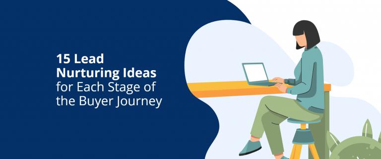 lead nurturing ideas buyer journey