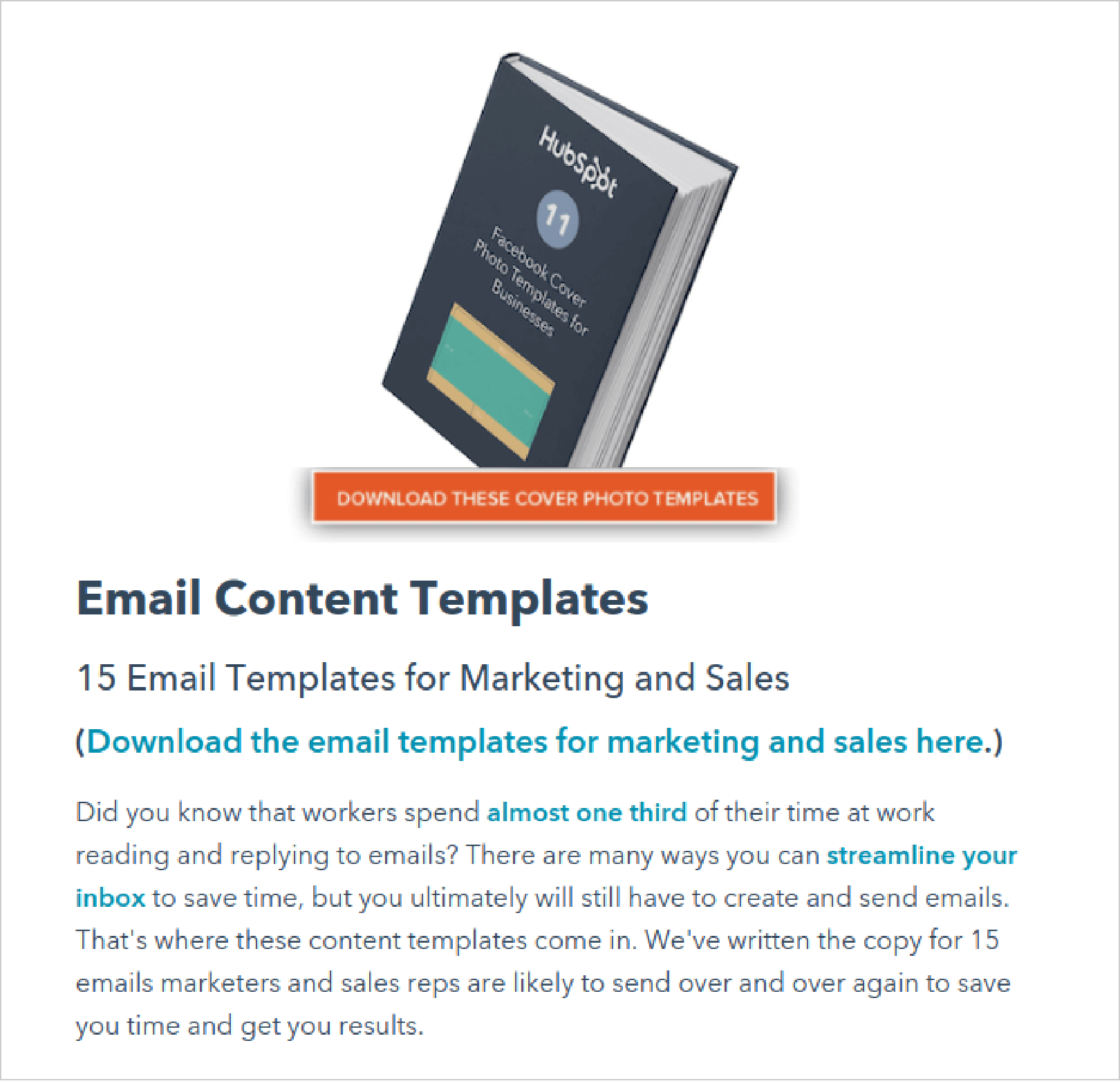 HubSpot Free Resources Templates
