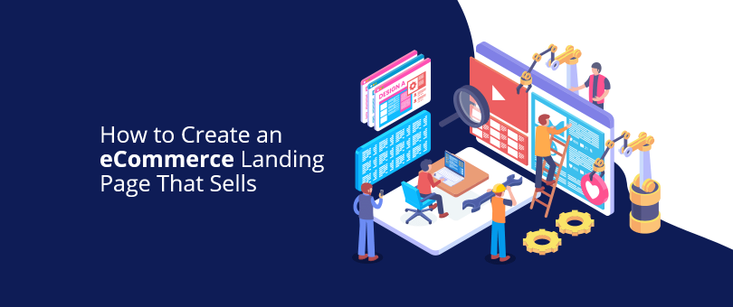 Create eCommerce Landing Page Sells