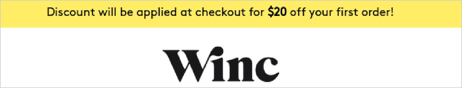 Winc Promotion