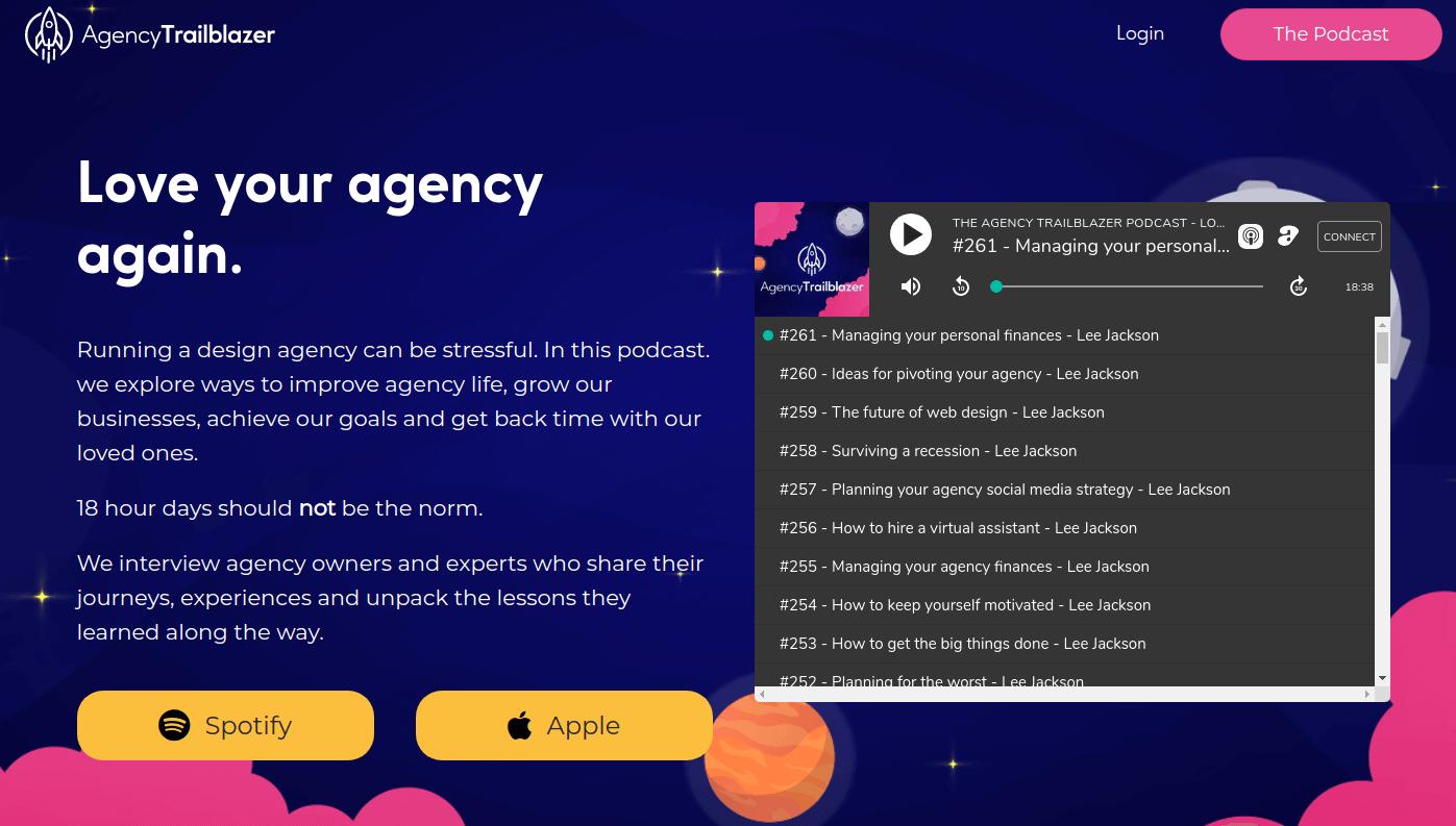 Agency trailblazer