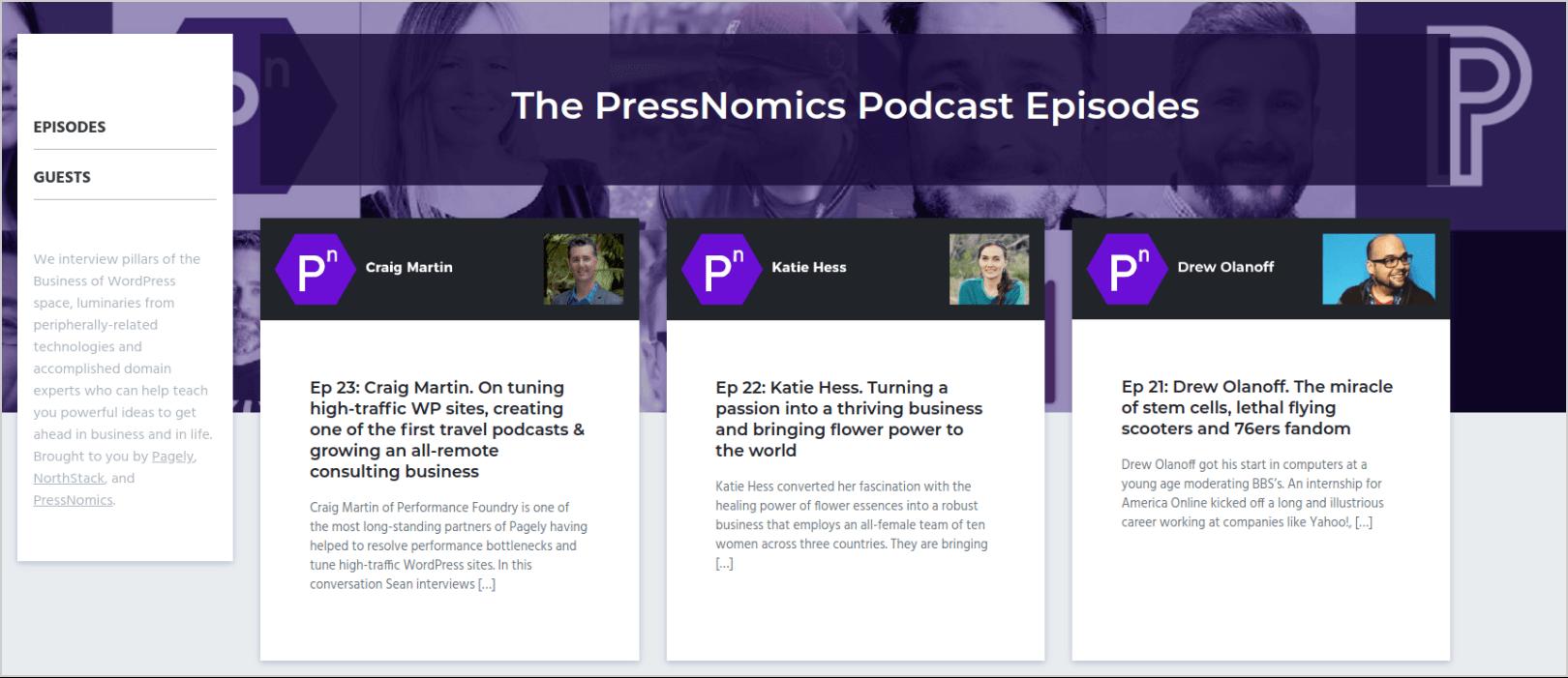 PressNomics podcast
