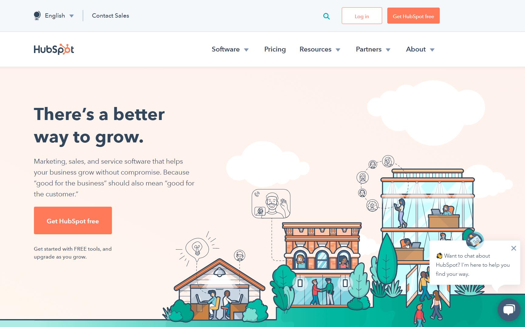 HubSport homepage