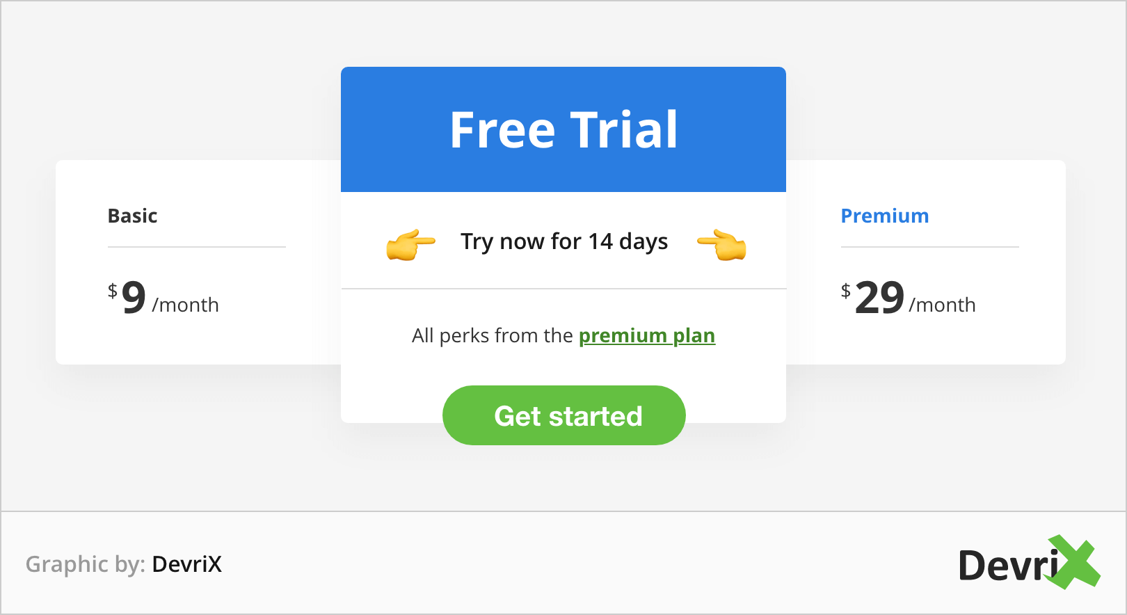 offer a free trial