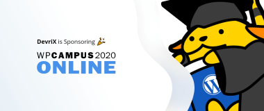 DevriX is Sponsoring WPCampus 2020