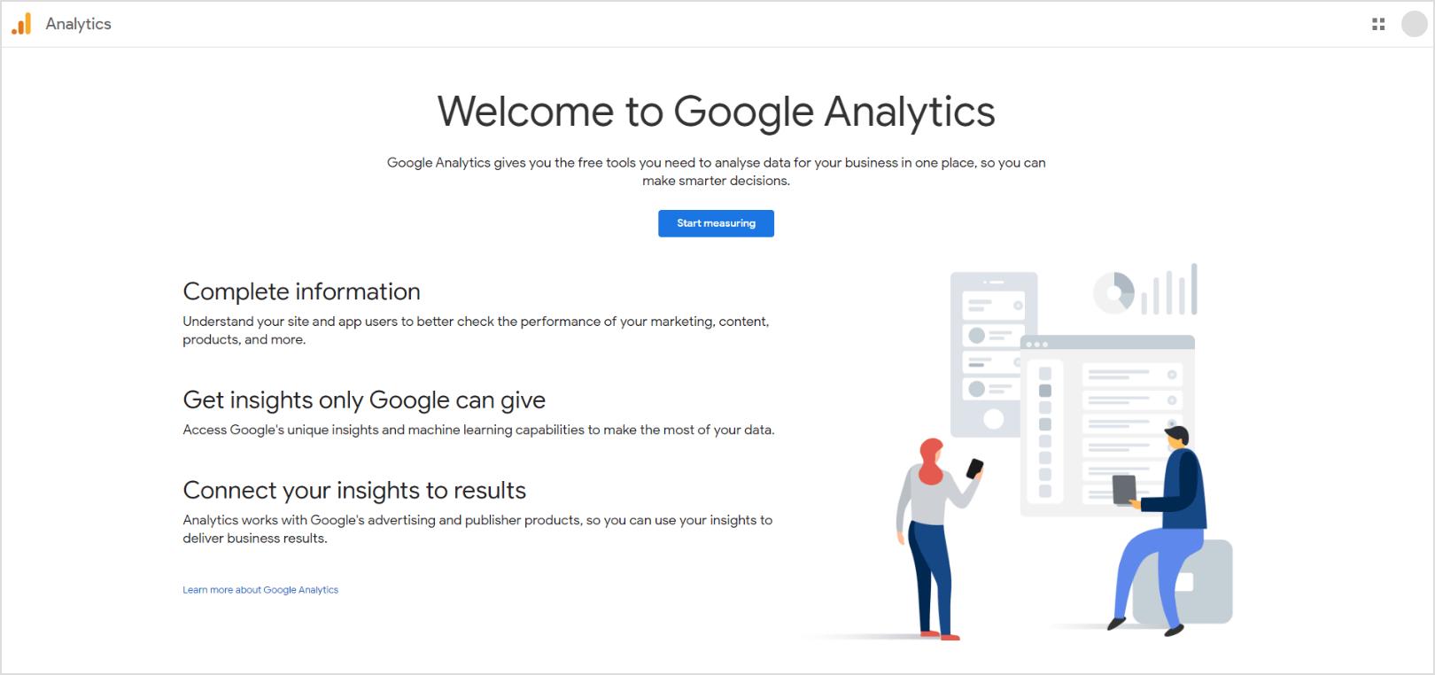 Google-Analytics-Home-Page