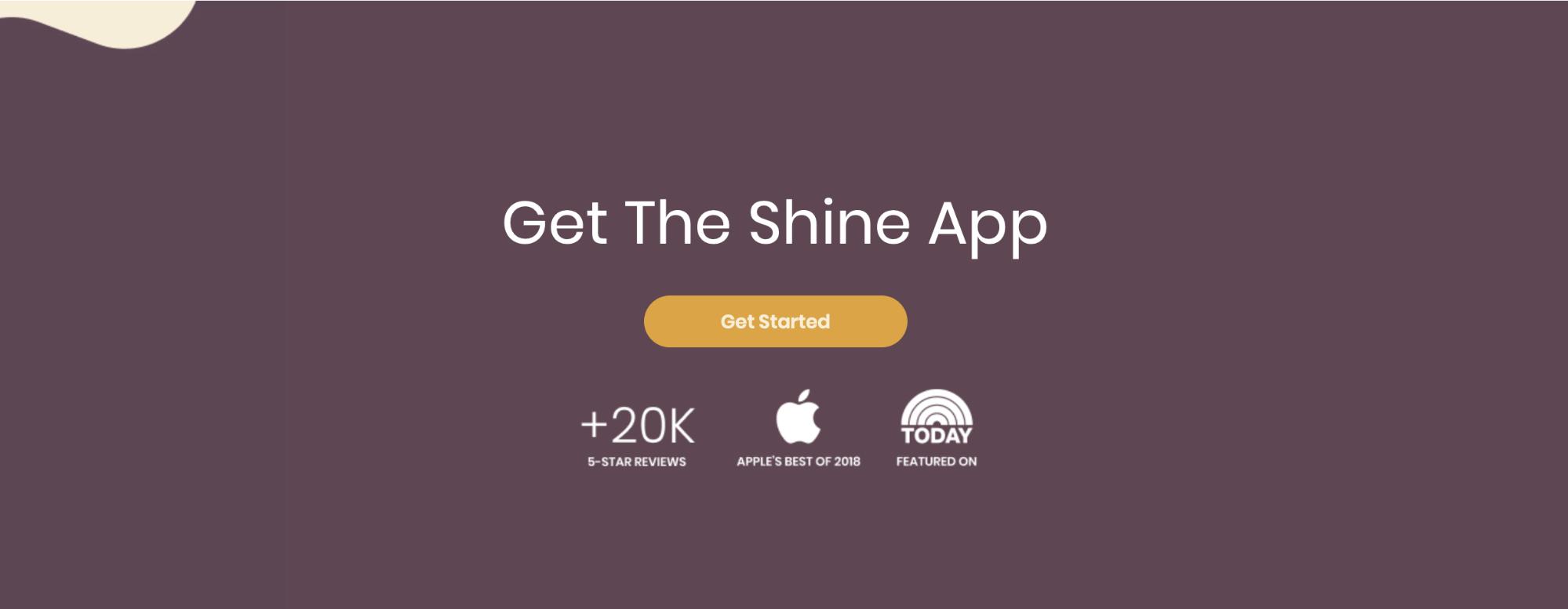 get the shine app