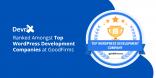 DevriX Ranked Amongst Top WordPress Development Companies at GoodFirms