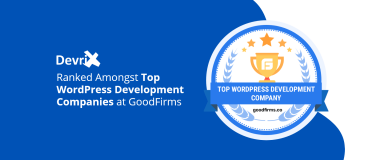 DevriX Ranked Amongst Top WordPress Development Companies at GoodFirms