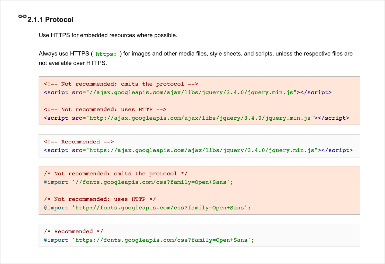 Google's HTML CSS Coding Style Guide