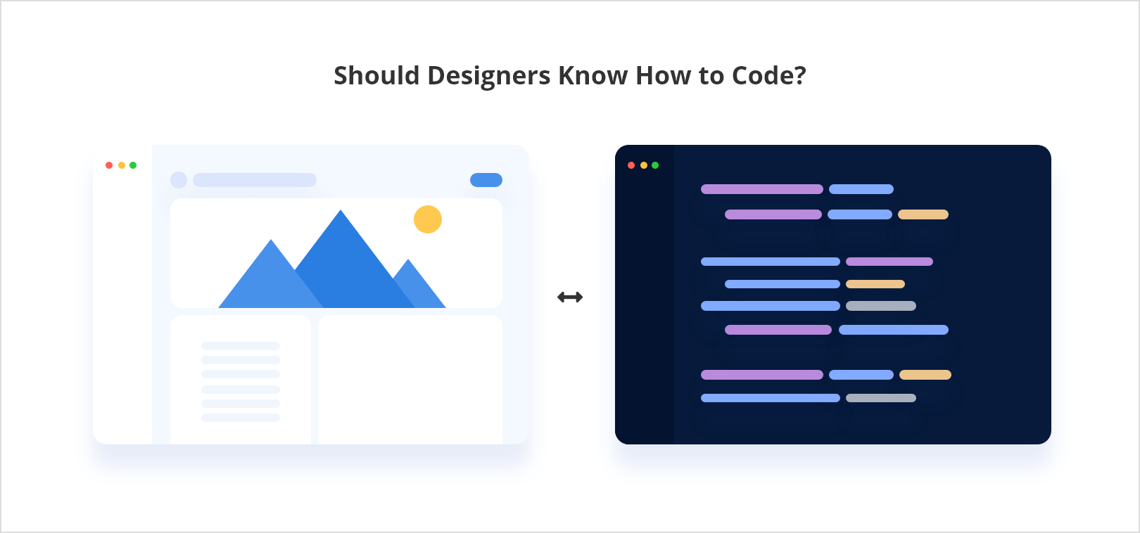 Should designers know how to code