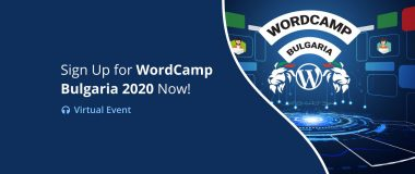 Virtual WordCamp Bulgaria 2020