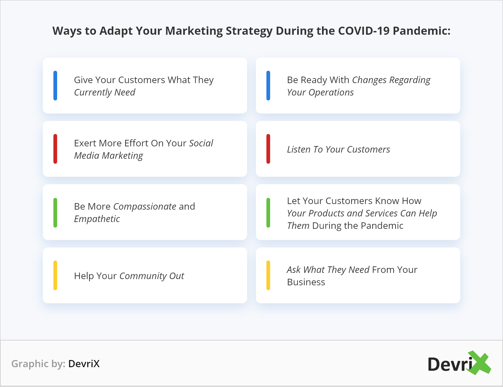 Ways to Adapt Your Marketing Strategy During the COVID-19 Pandemic