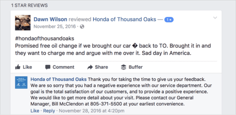 Example Honda of Thousand Oaks