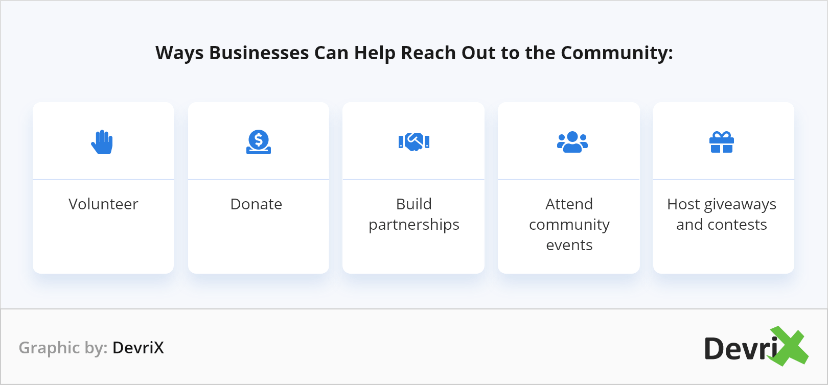 reach out to community
