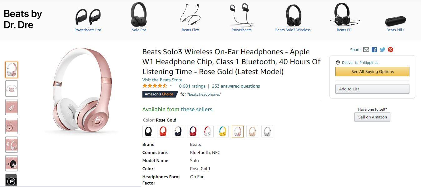 amazon example product descriptions