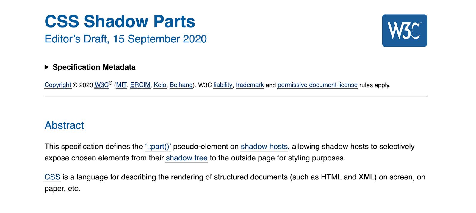 ccs shadow parts