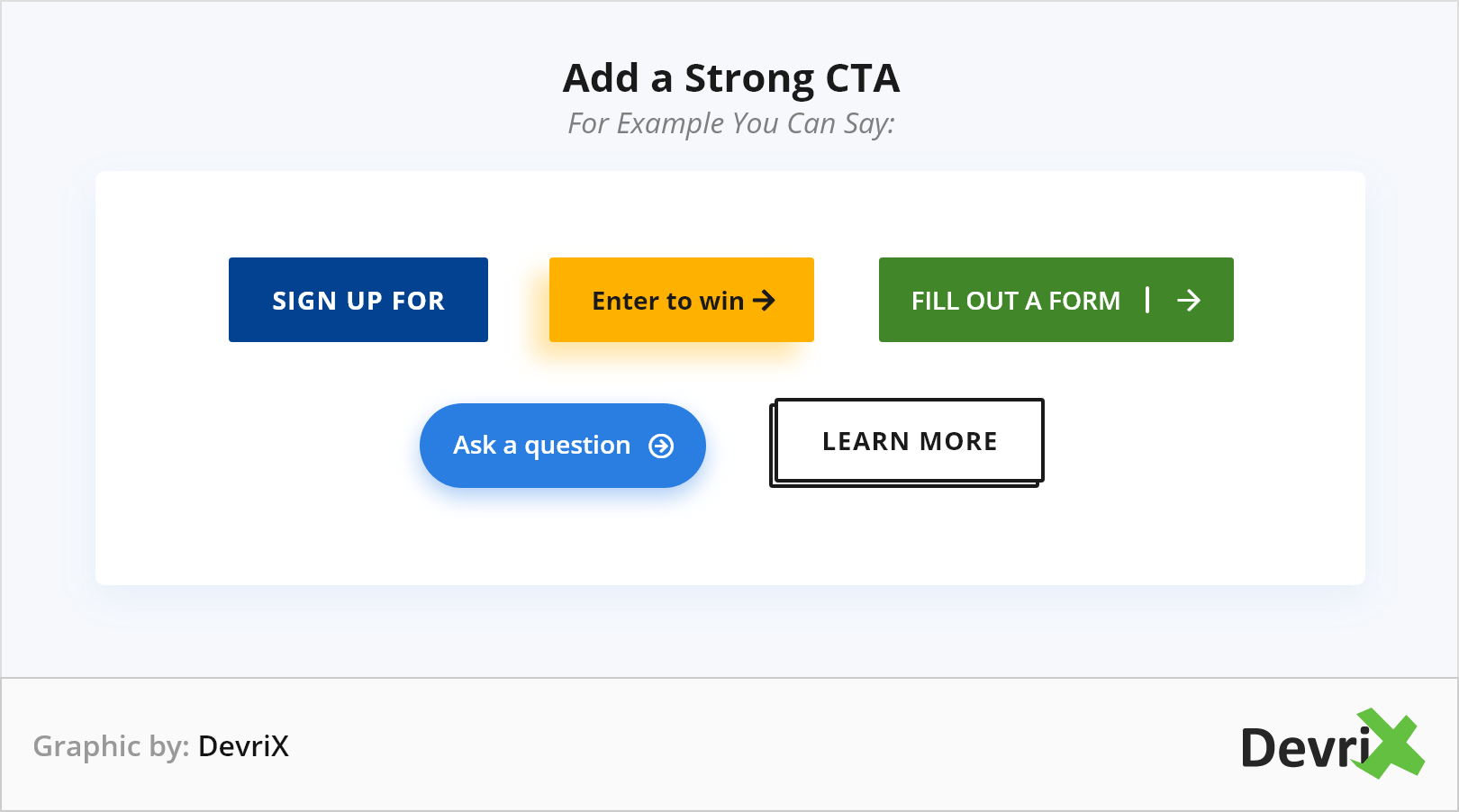 Add a Strong CTA