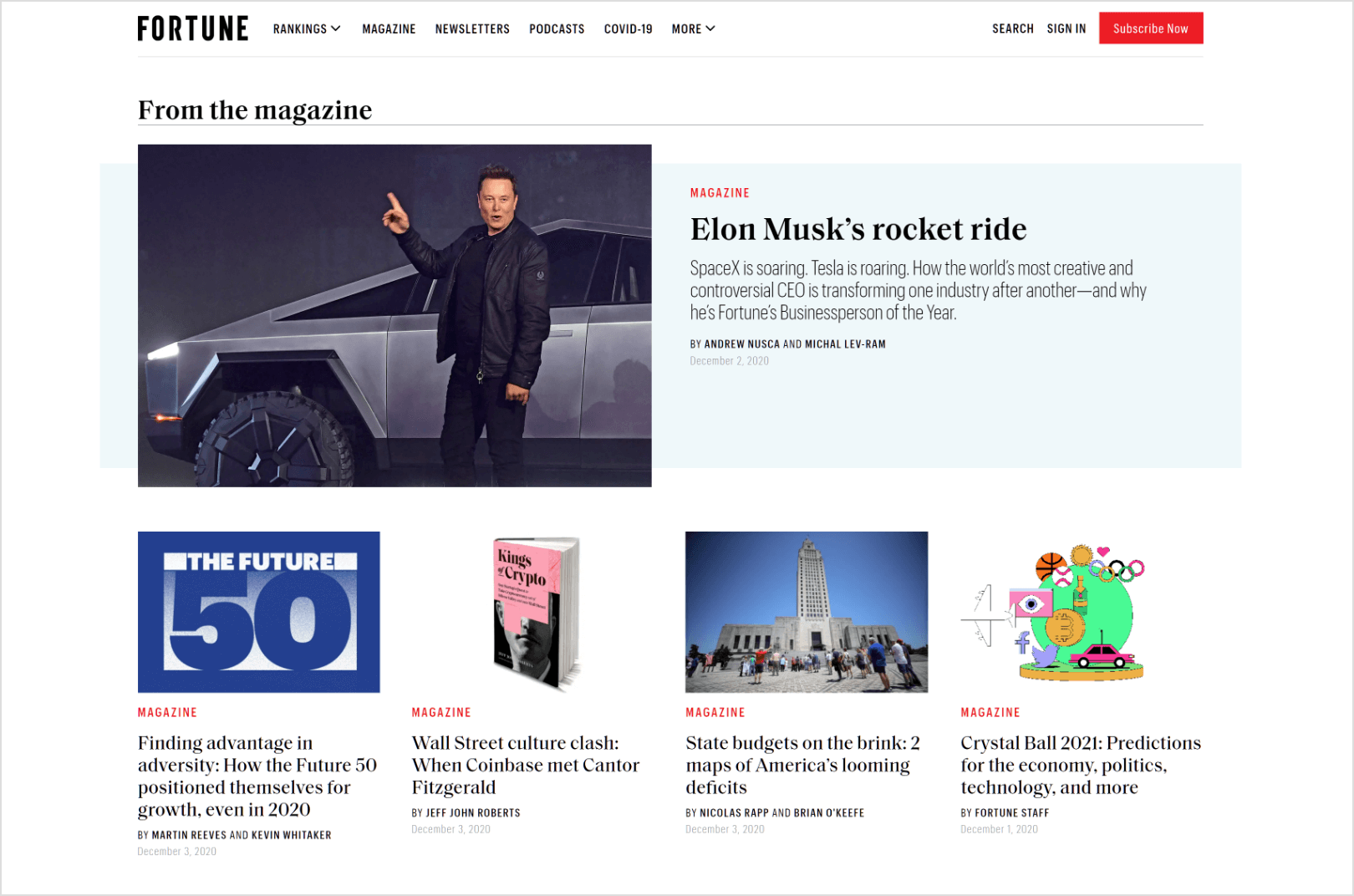 Fortune-home-page-screenshot