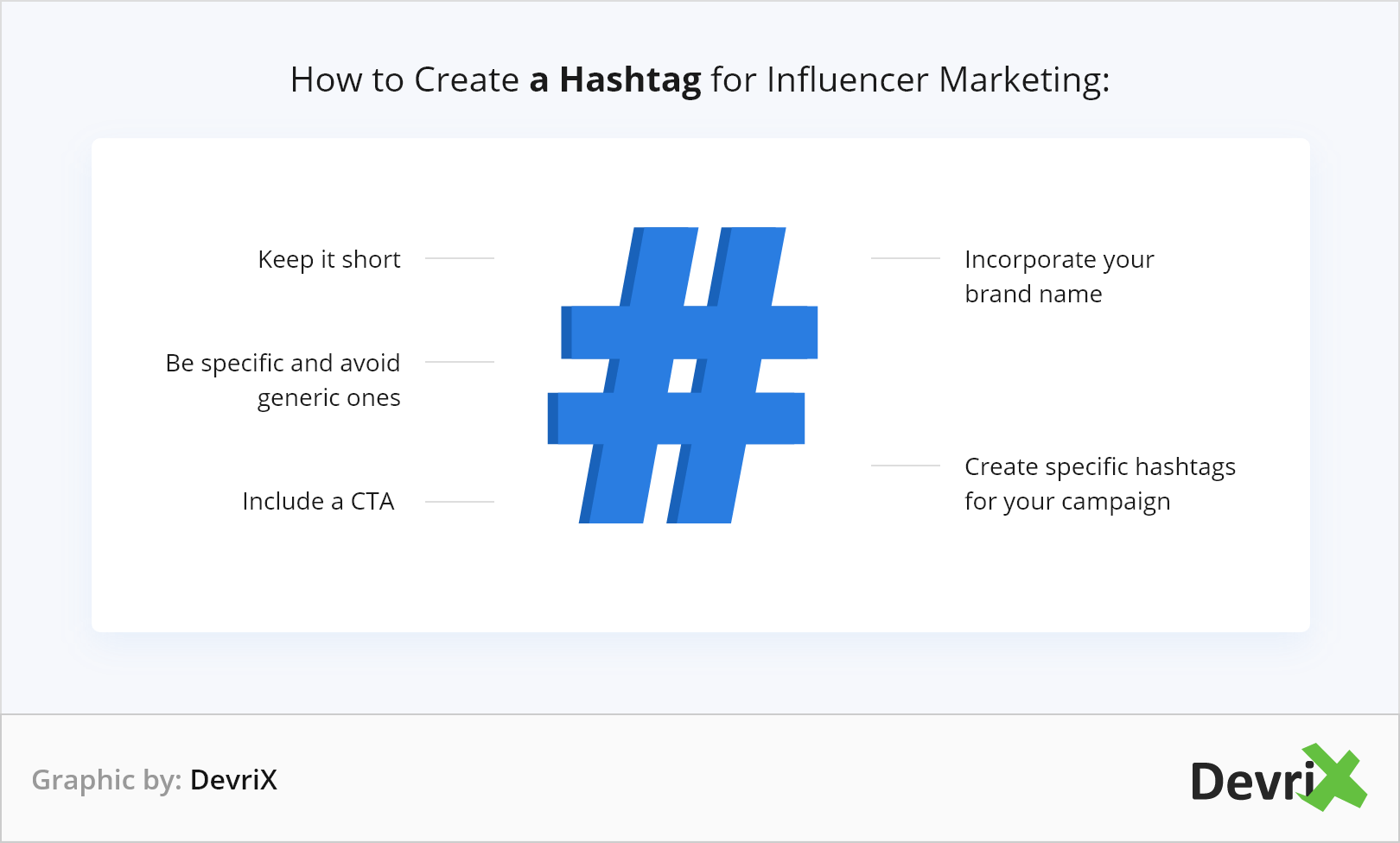 How to Create a Hashtag for Influencer Marketing