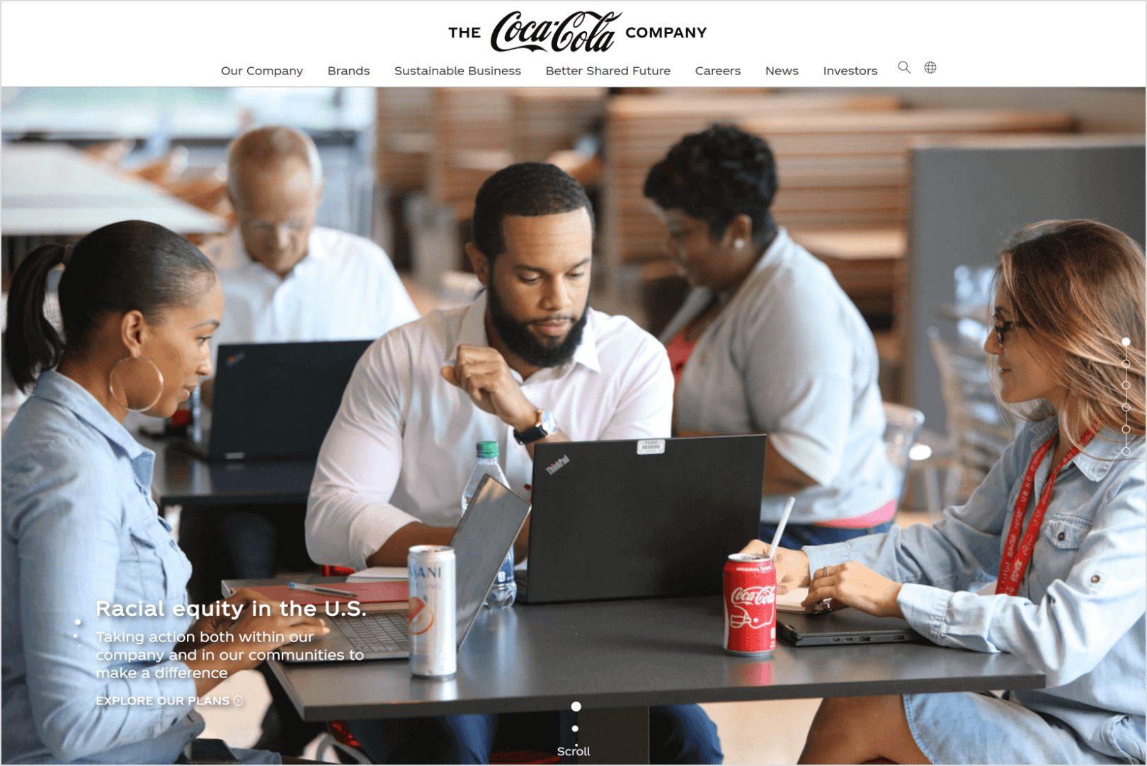 Coca-Cola Beverages for Life Screenshot