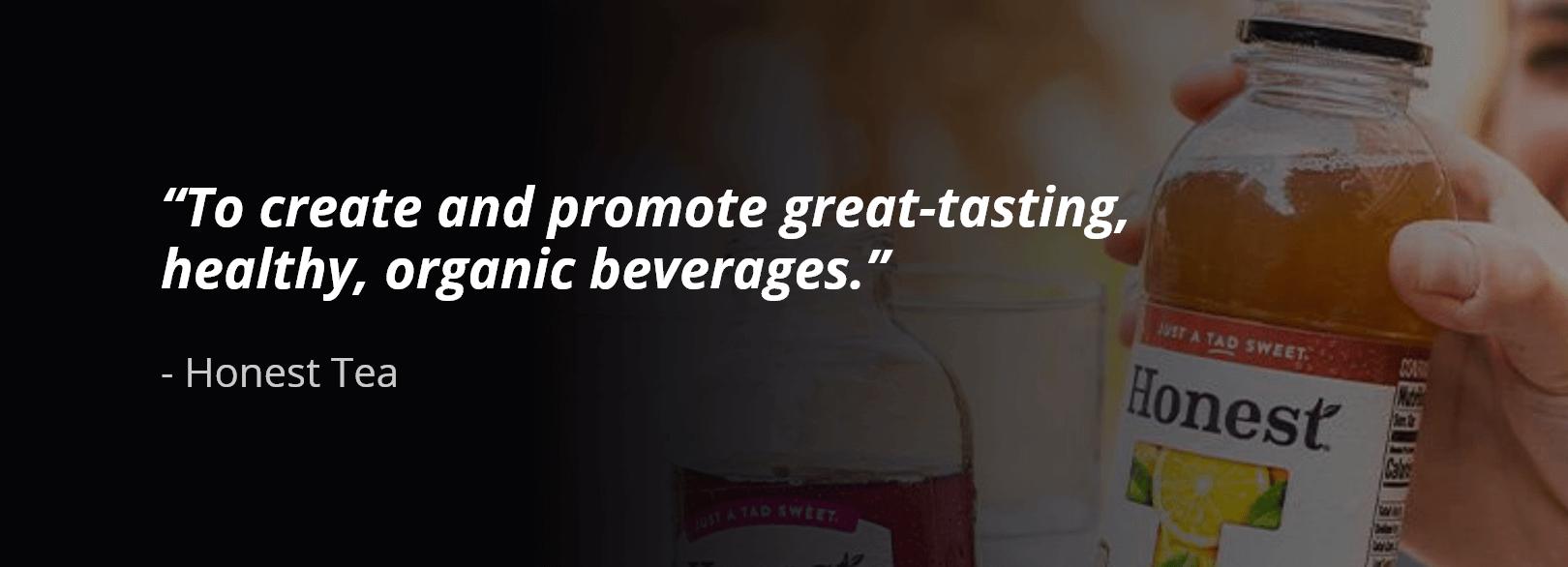 Honest Tea business purpose