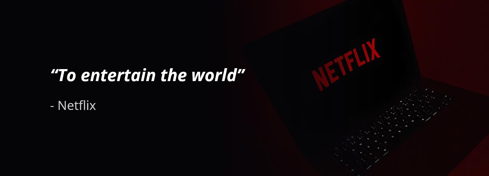 Netflix business purpose