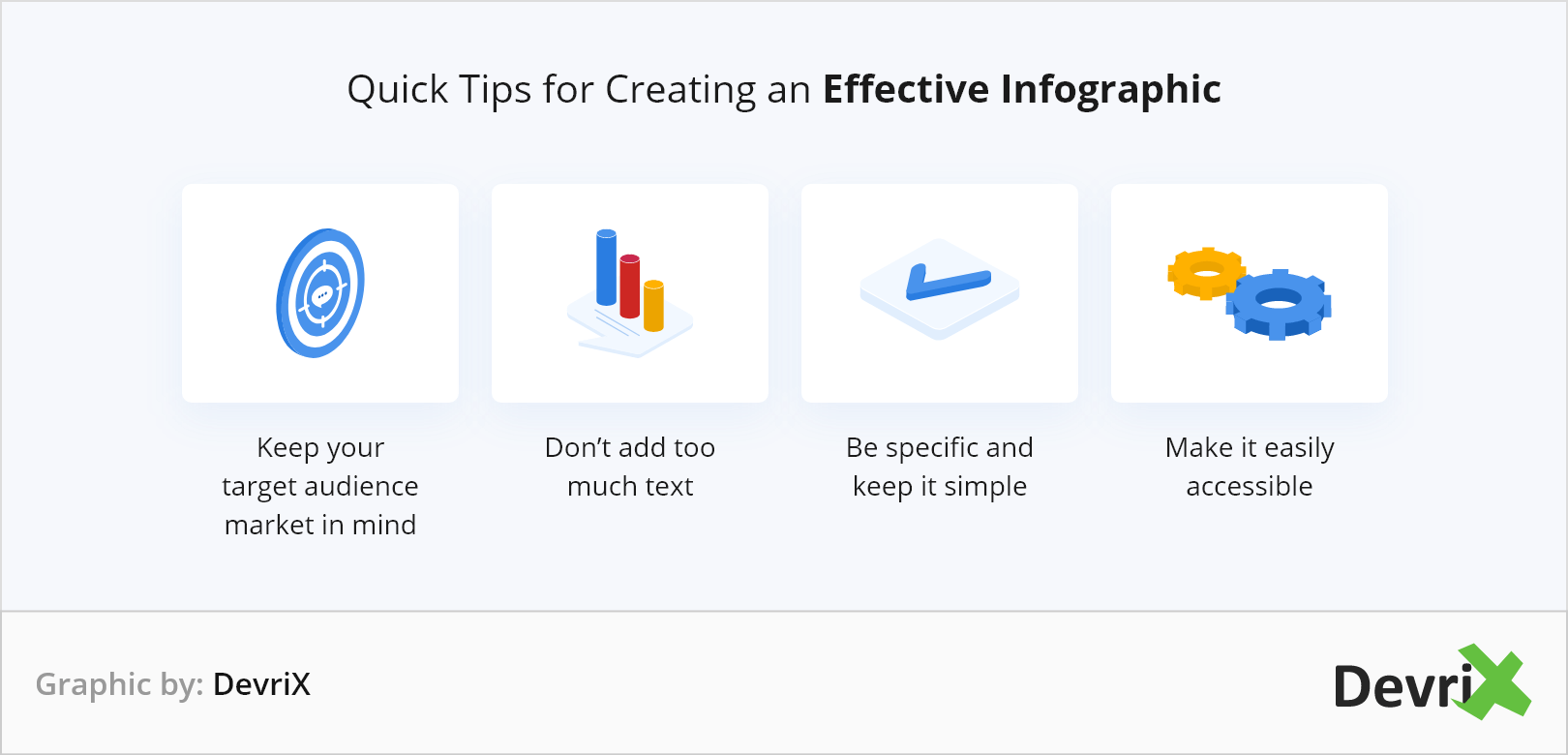 Quick Tips for Creating an Effective Infographic