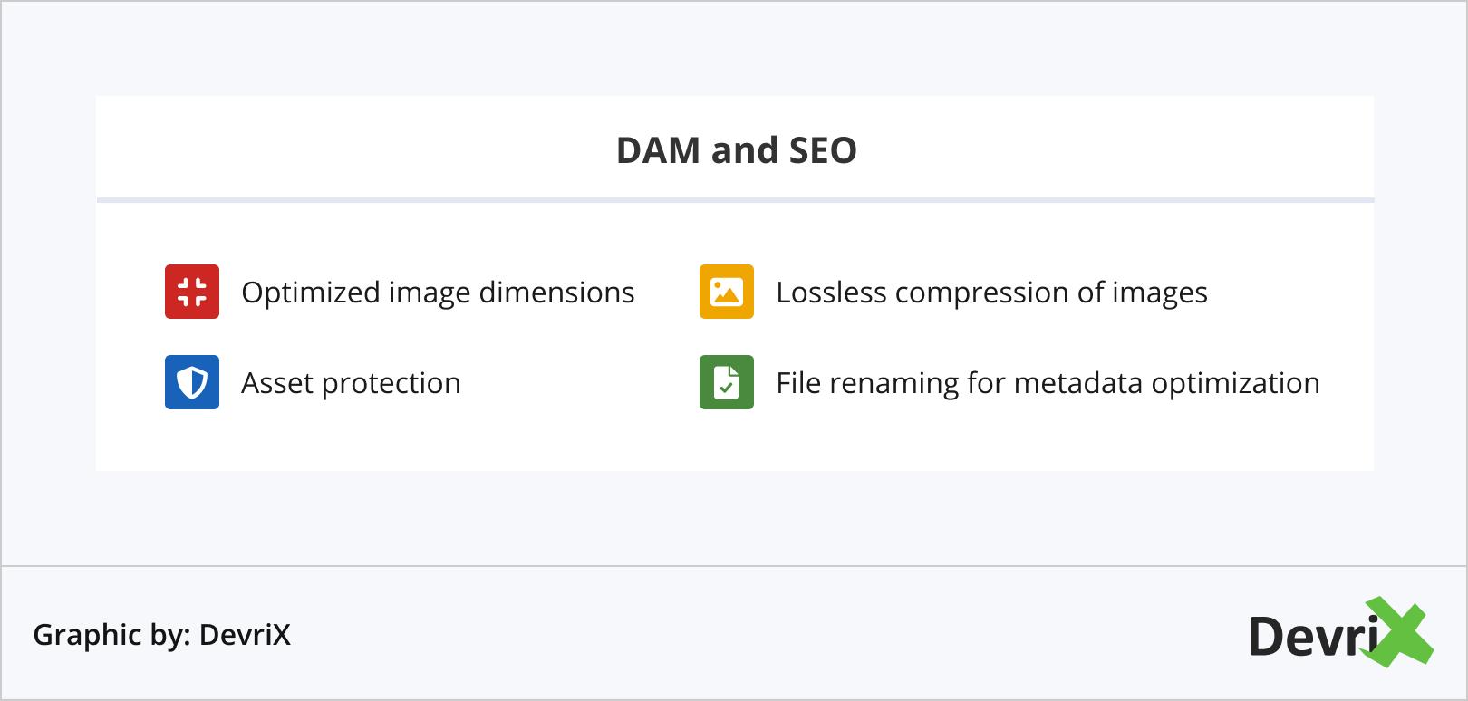 DAM and SEO
