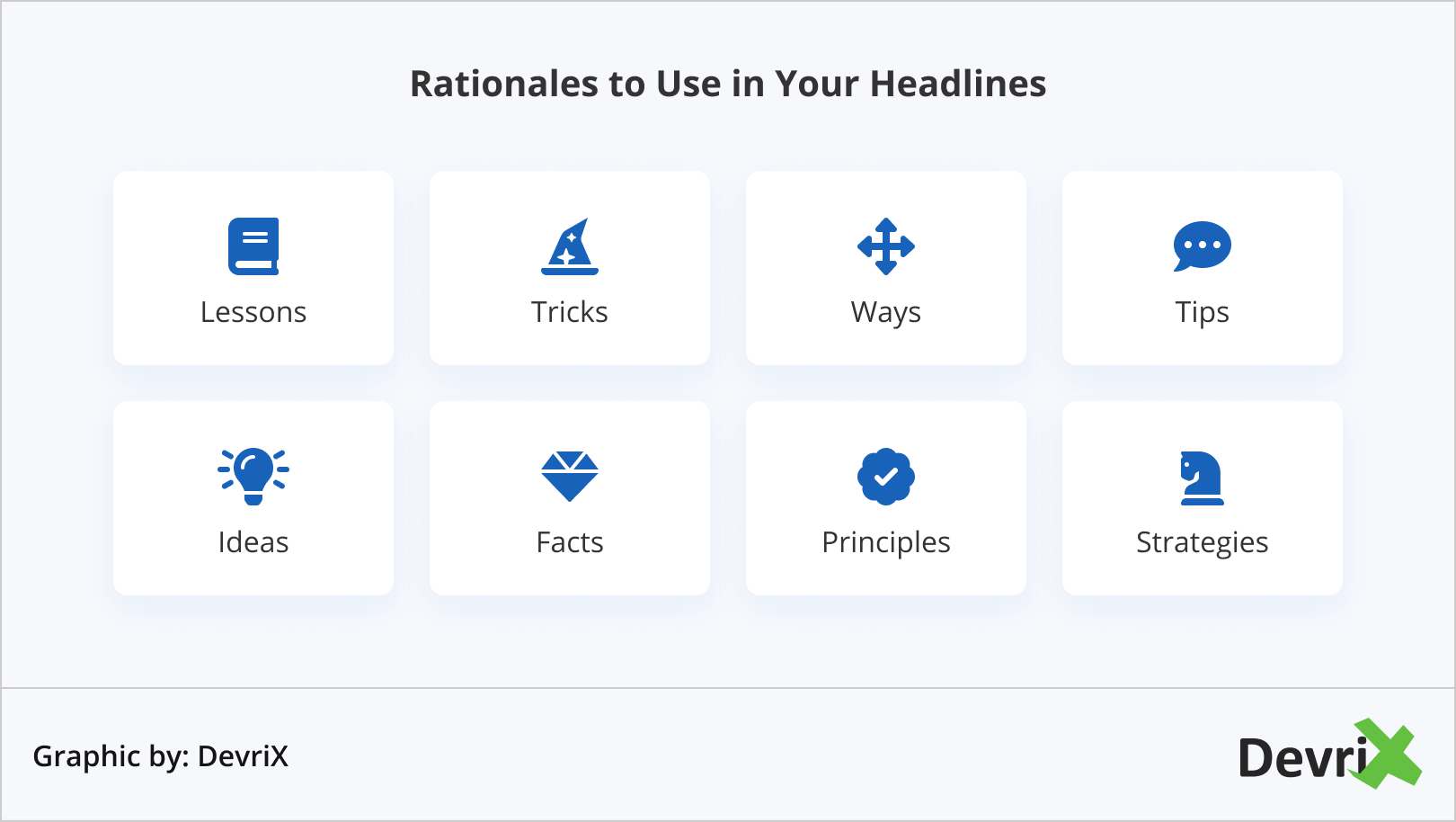Rationales to Use in Your Headlines