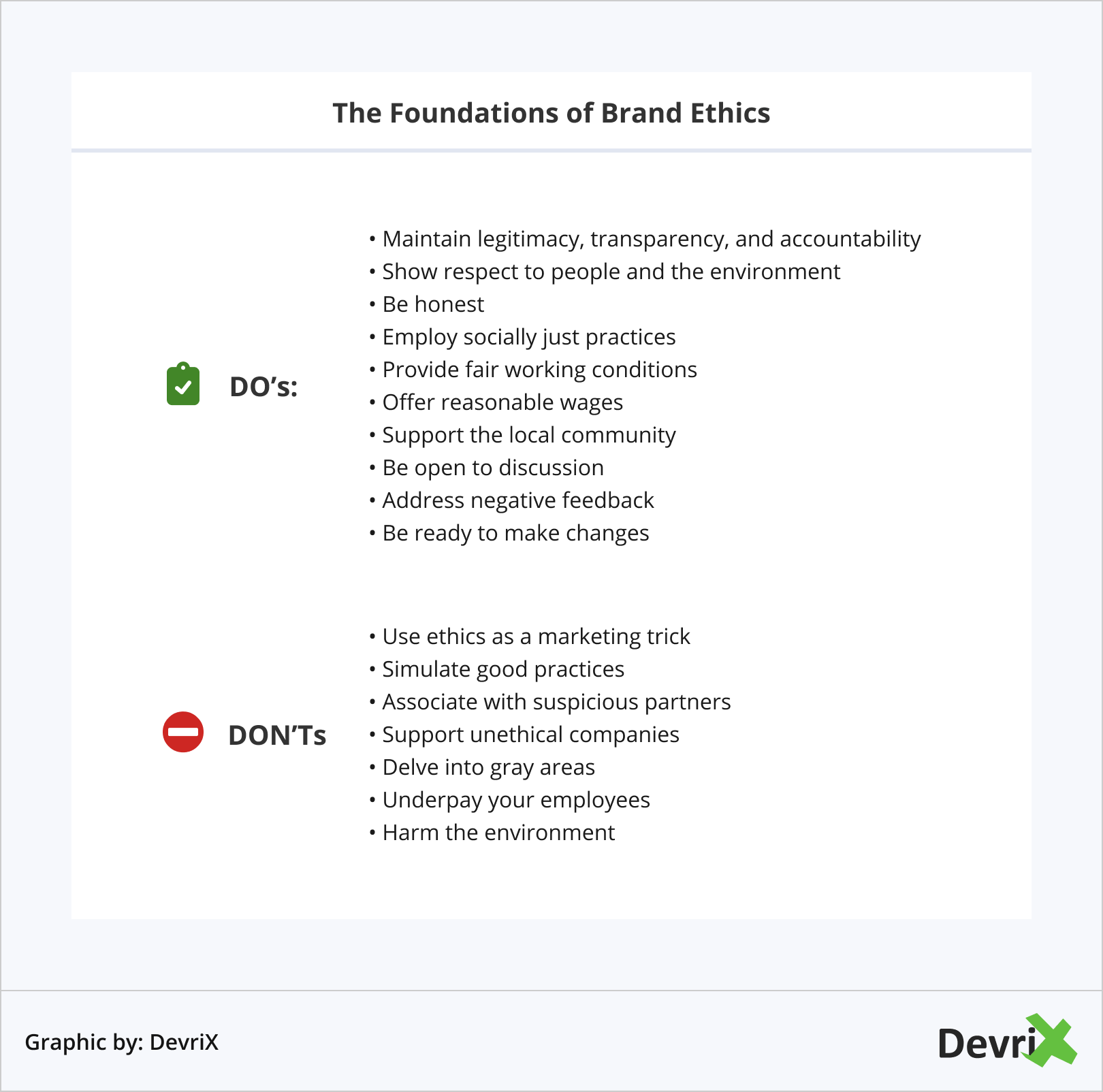 The Foundations of Brand Ethics