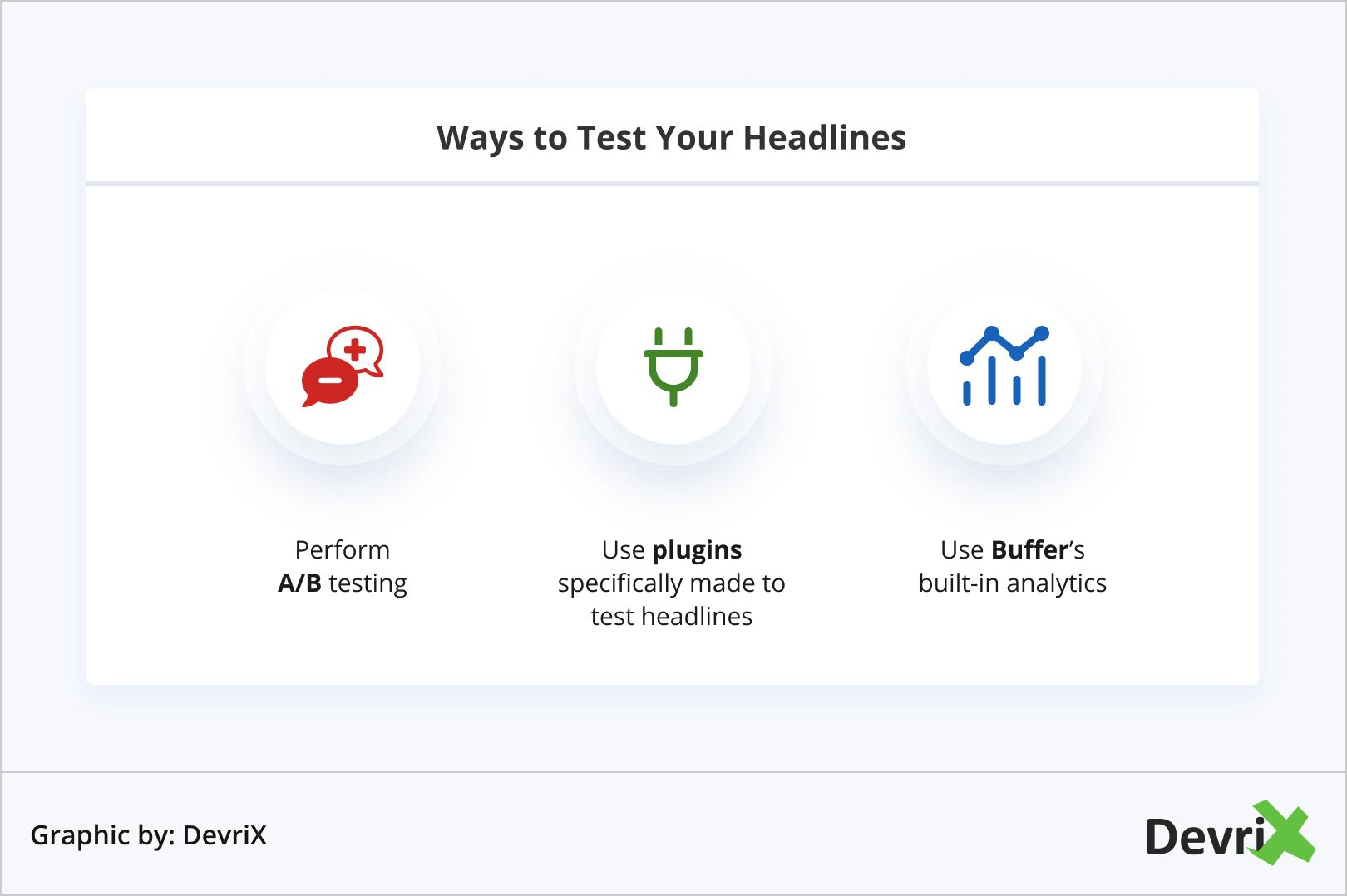 Ways to Test Your Headlines