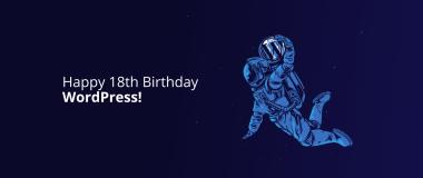 WordPress 18th Birthday