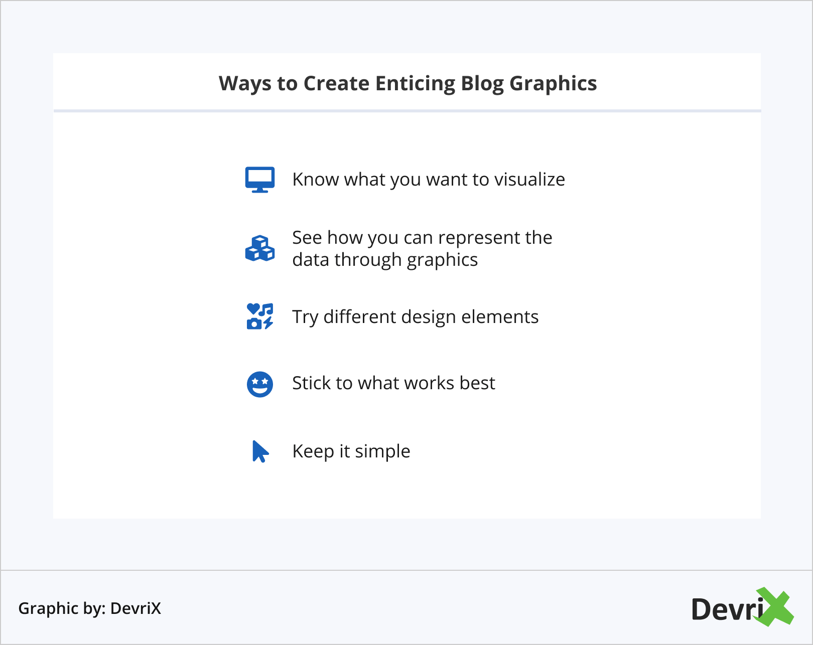 Ways to Create Enticing Blog Graphics
